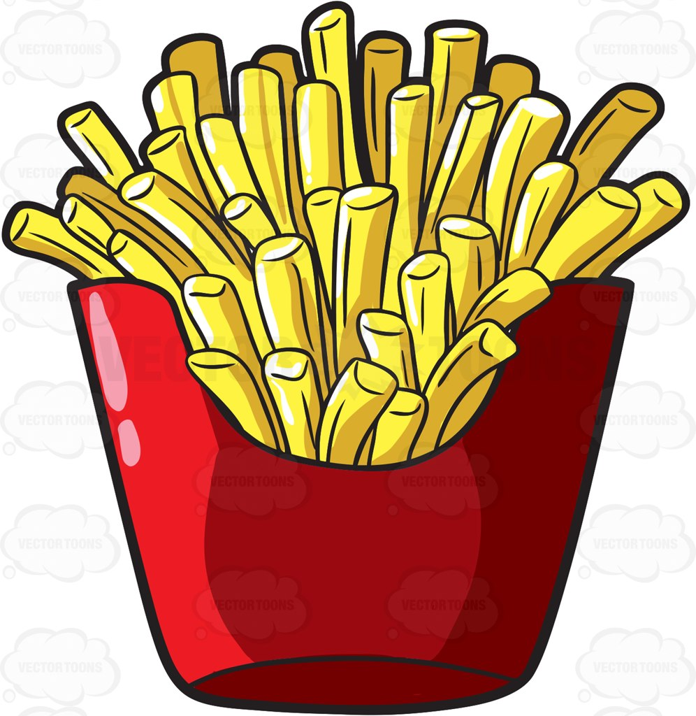 French Fries clipart food Clipart Food Serving A Food