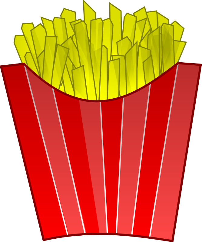 French Fries clipart food Free 7 Fries Food png103