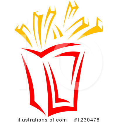 McDonald's clipart french fry Tradition Vector by Fries by