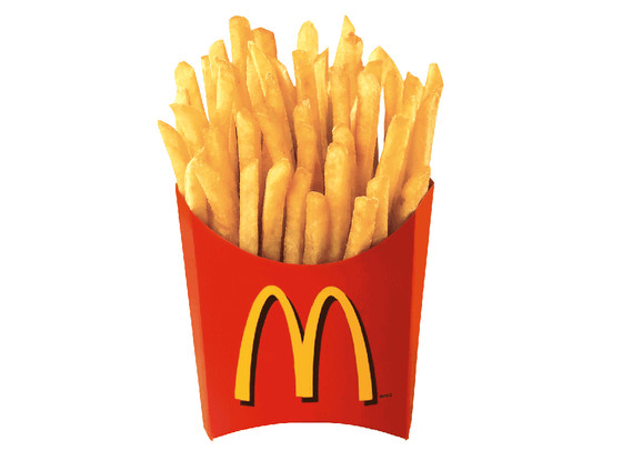 McDonald's clipart french fry Food fries from McDonalds) French