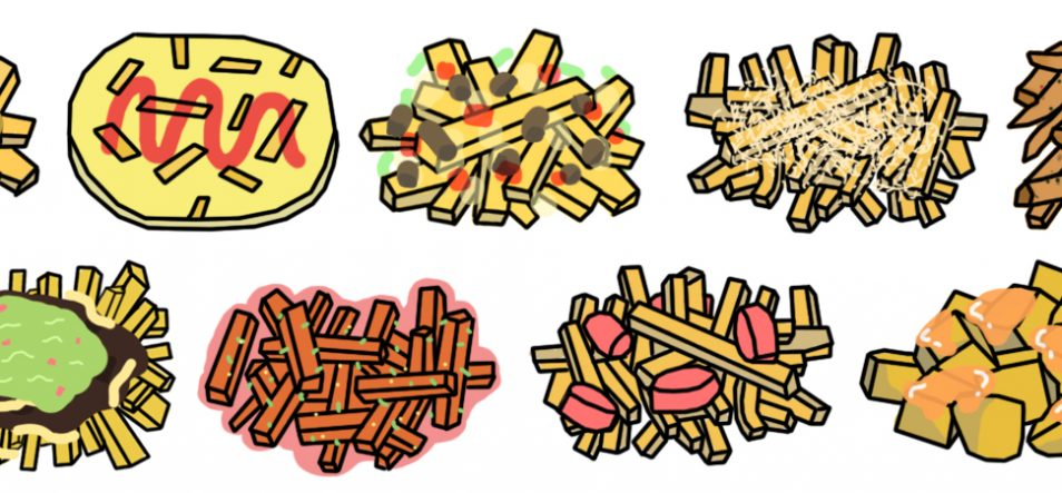 French Fries clipart one french Call longer is Peach Fry