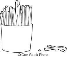 French Fries clipart one french French French and  French