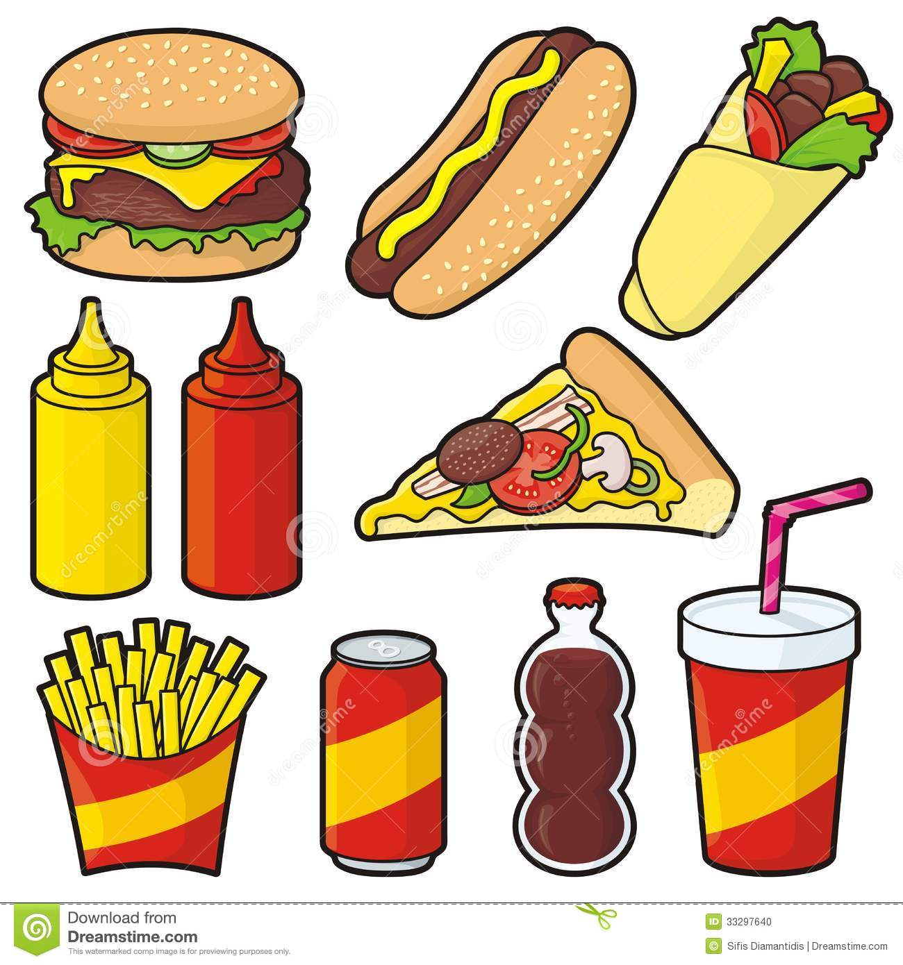 McDonald's clipart food Food Clipart Collection  Clipart