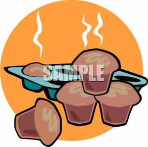 Muffin clipart hot Muffin Tin of Tin Hot