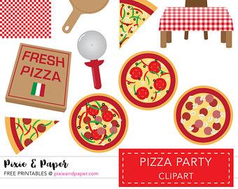 Fresh clipart pizzeria Art Clip Etsy clip Clipart