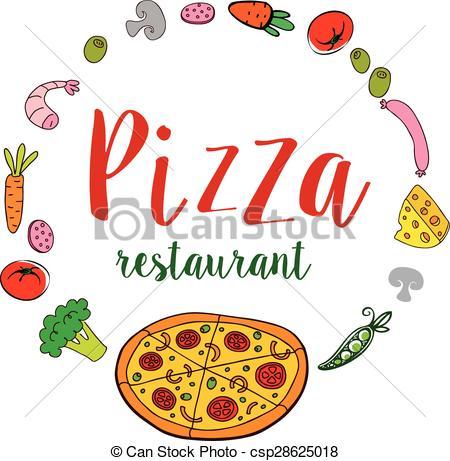 Fresh clipart pizzeria Banner Pizza  of Pizza