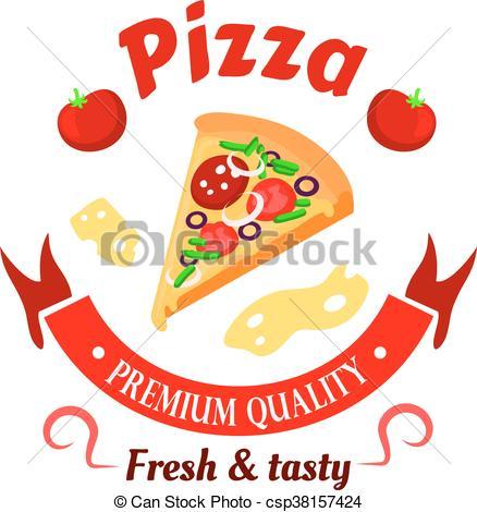 Fresh clipart pizzeria Fresh Illustration pizza tomatoes banner