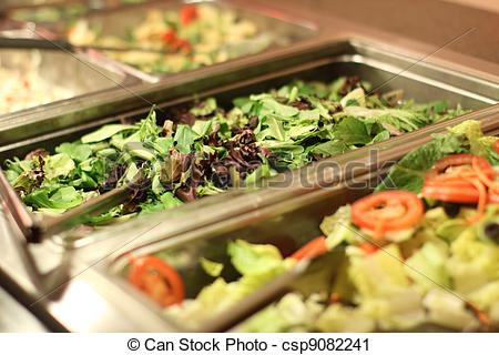 Fresh clipart salad bar Bar Salad bar Stock tossed