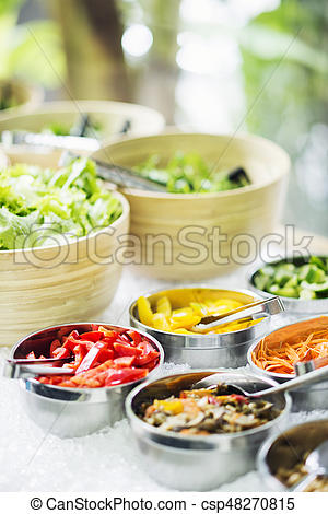 Fresh clipart salad bar Vegetables Photo mixed vegetables bar