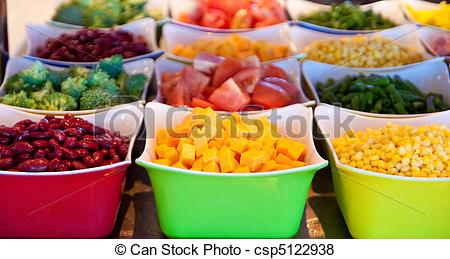 Fresh clipart salad bar  and csp5122938 Pictures on