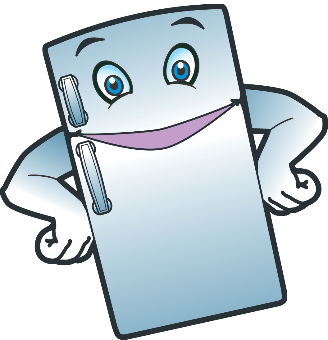 Cartoon clipart refrigerator Images Clipartwork Clipart Smile Fridge