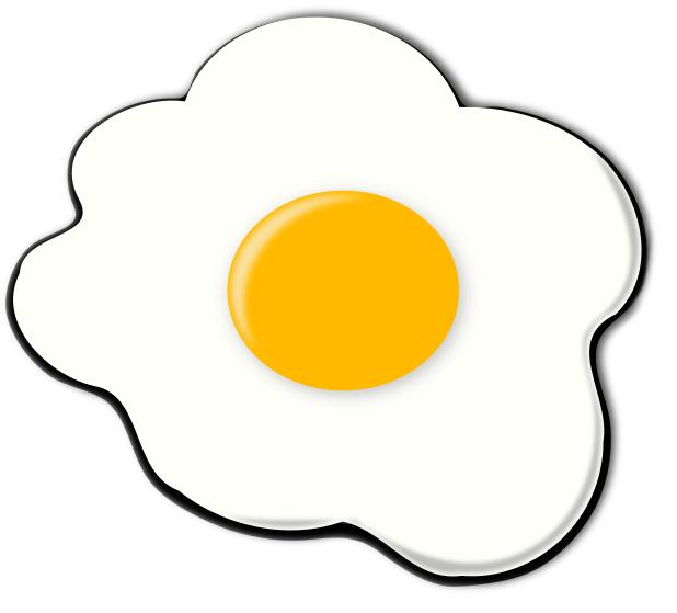 Fried Egg clipart #1