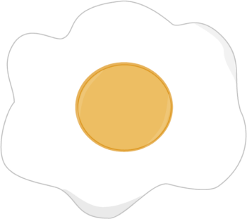 Fried Egg clipart #8