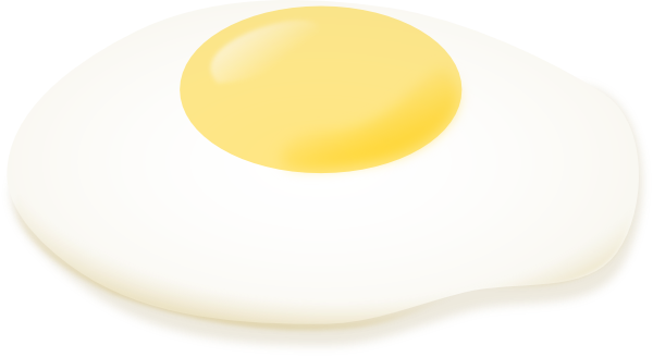 Fried Egg clipart Royalty at art  as: