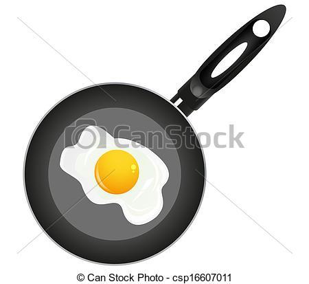 Fried Egg clipart #14