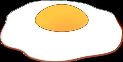 Fried Egg clipart #5
