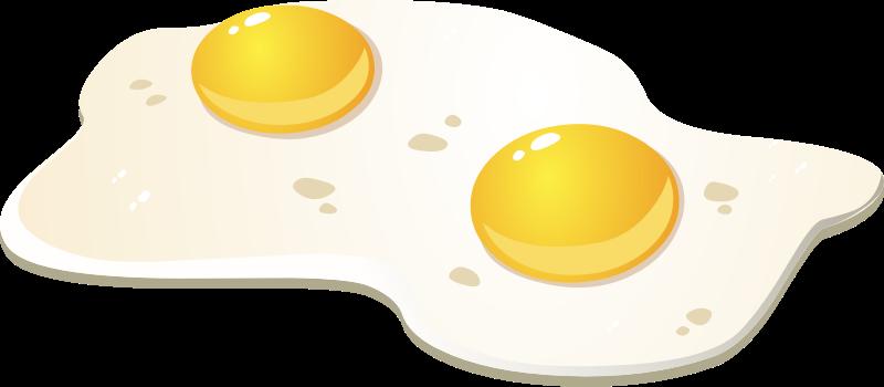 Fried Egg clipart #4