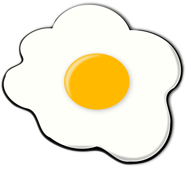 Fried Egg clipart Clipart com clipart Fried Cliparting
