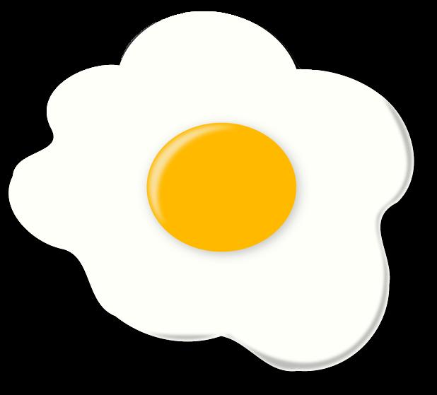 Fried Egg clipart #6