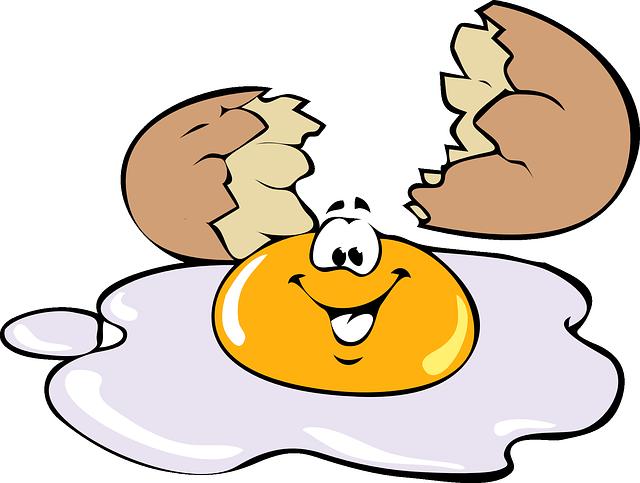 Fried Egg clipart free breakfast Egg Smile Yellow Eggs Morning