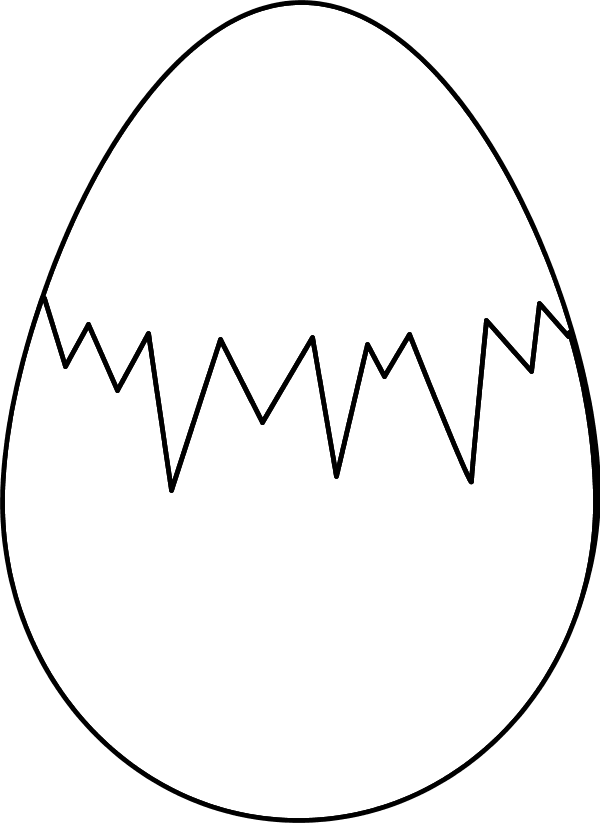 Fried Egg clipart itlog Easter  on fracture Free