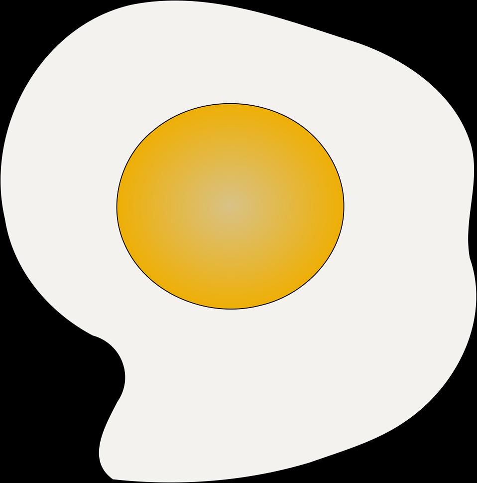 Fried Egg clipart transparent Photo Egg Free Images Fried
