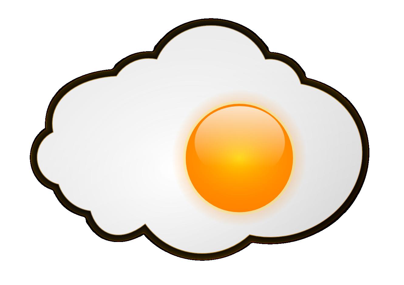 Fried Egg clipart transparent Image egg egg Fried image