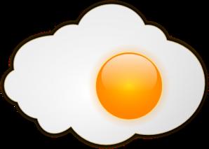 Fried Egg clipart transparent Clip Egg Fried Fried at