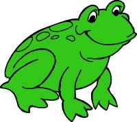 Frog clipart 2 PDClipart Frog clipart to