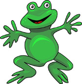 Frog clipart Frog Graphics Frog Size: Art