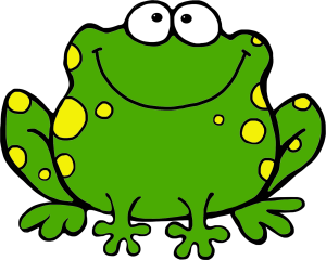 Frog clipart Free pictures Cute frog clip