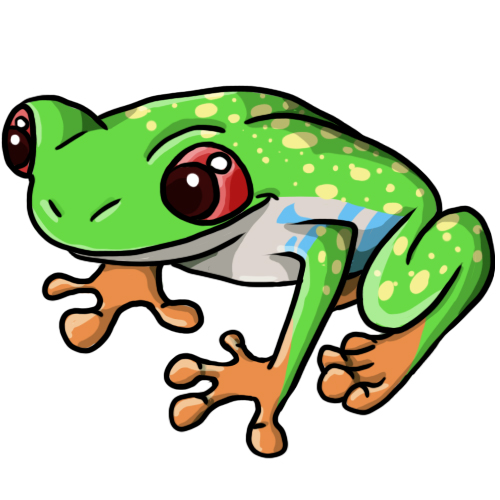 Red Eyed Tree Frog clipart Clipart Art Panda Images Clip