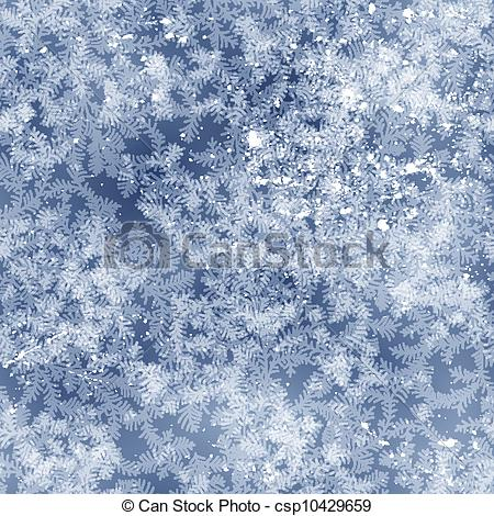 Winter clipart frost Vector  csp10429659 pattern on