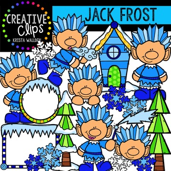 Winter clipart frost {Creative Graphics Clipart} Winter Jack