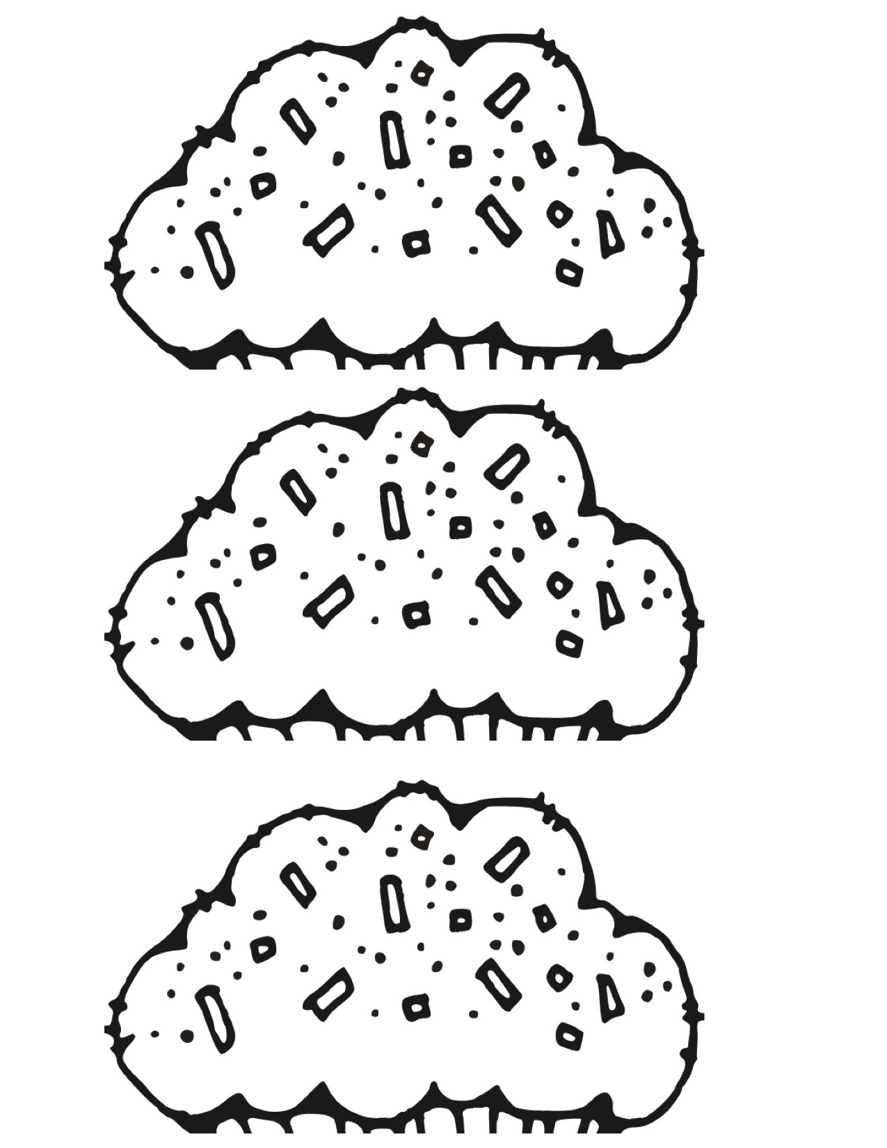 Frosting clipart black and white Owen ran frosting scrapbook by