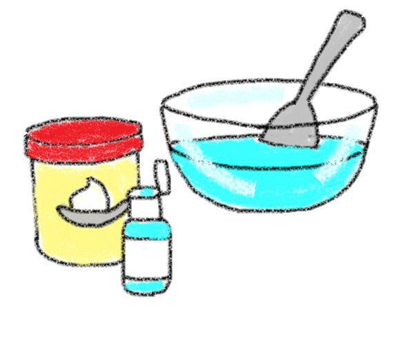 Frosting clipart bowl Cookie chip of Serve bowl