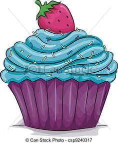Frosting clipart cupcake logo Illustrations Cupcake royalty free clip