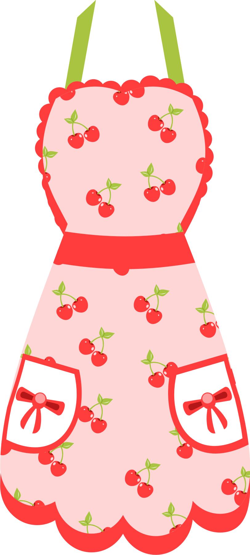 Frosting clipart pink apron More Pin Objetos Clip @danimfalcao