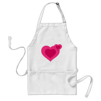 Frosting clipart pink apron Art hearts Clip apron adult