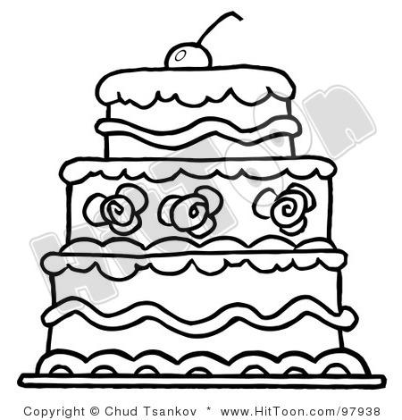 Wedding Cake clipart outline Clipart Images Clip Wedding Art