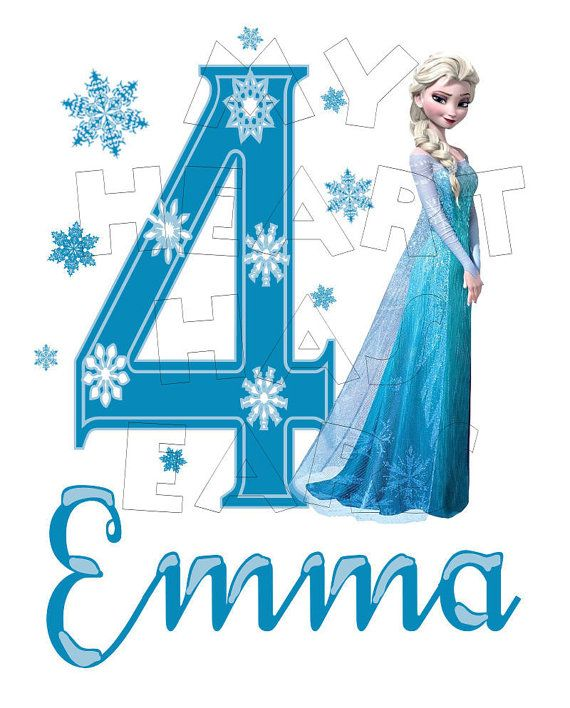 Iiii clipart frozen White 4th & Pink Vacation