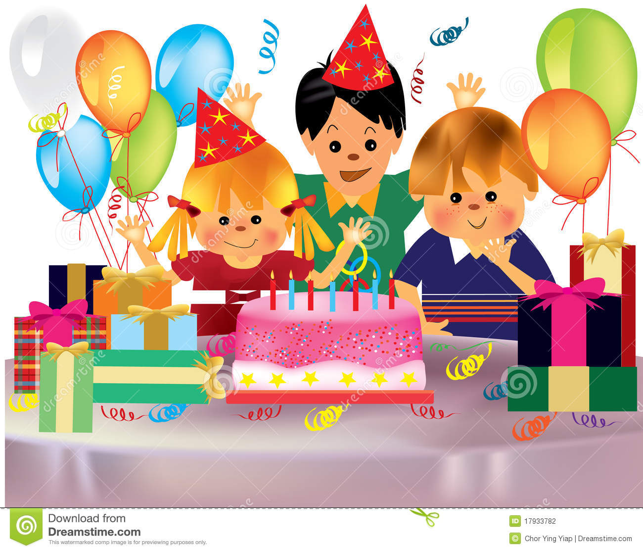 Birthday clipart children's Images Clipart Happy Party clip