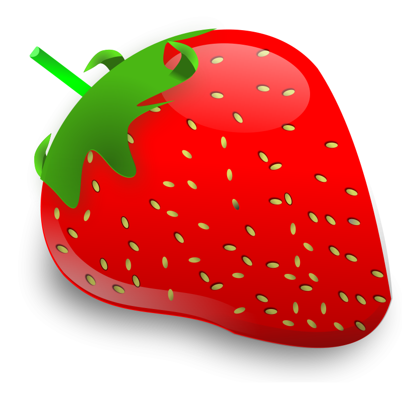 Pice clipart red fruit #2
