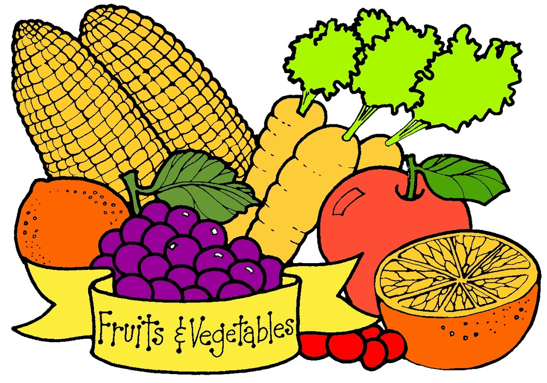 Fruits & Vegetables clipart #2
