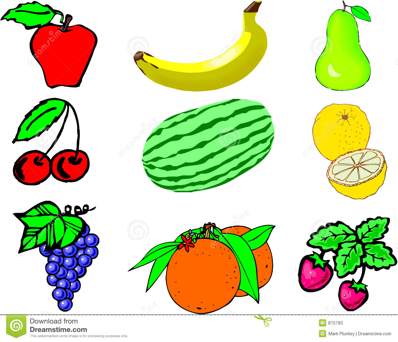 Fruits & Vegetables clipart #10