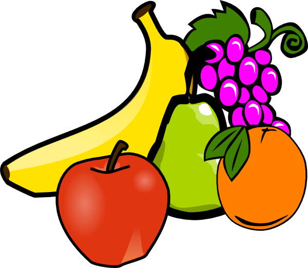 Fruits & Vegetables clipart #6