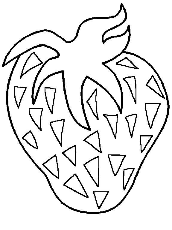 Fruits & Vegetables clipart coloring page Coloring coloring Veggies Fruits Coloring