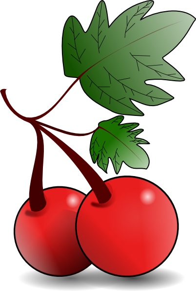 Pice clipart red fruit #8