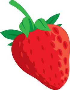 Pice clipart red fruit #3