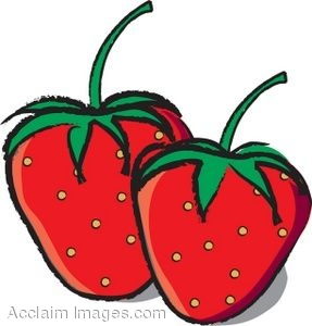 Pice clipart red fruit #10